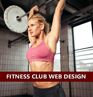 Fitness Club Web Design, Health Club Website Design, Gym Website