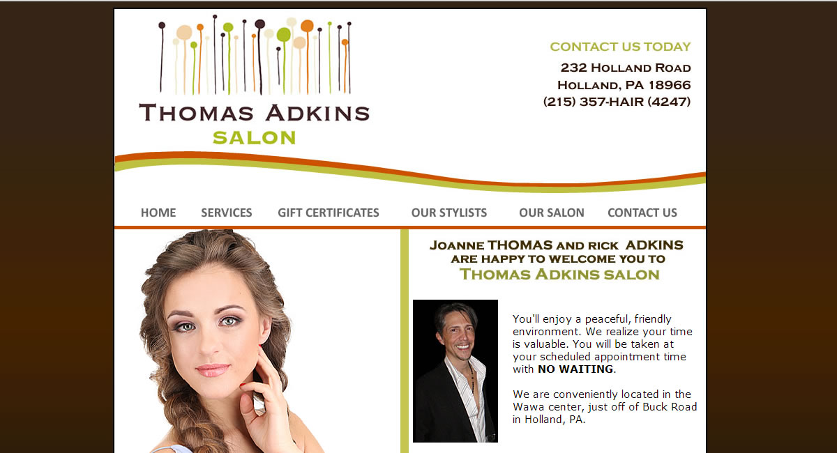 Thomas Adkins Salon